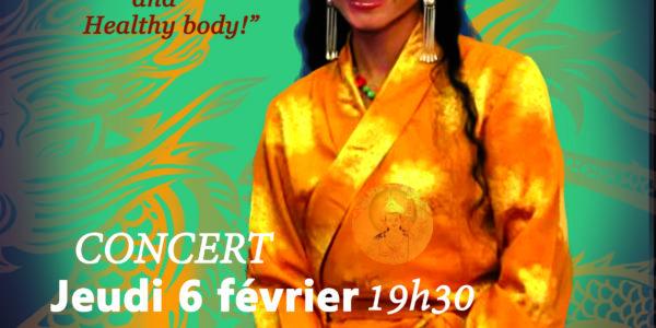 Concert Drukmo Gyal le jeudi 6 Février à 19h30