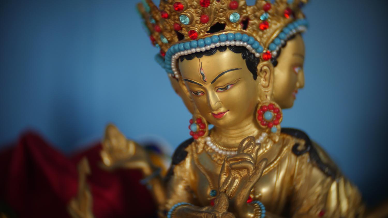 Statue du Bouddha Tara